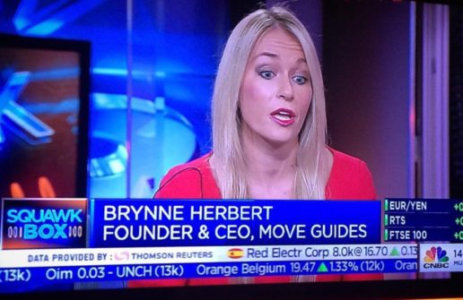 MOVE Guides CEO Brynne Herbert Wins Women Of The Future Award For Entrepreneur Of The Year