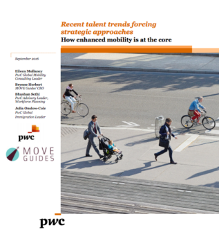 New White Paper With PwC – Recent Talent Trends Forcing Strategic Approaches: How Enhanced Mobility Is At The Core