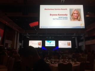 MOVE Guides CEO Receives Worldwide ERC 2017 Meritorious Service Award